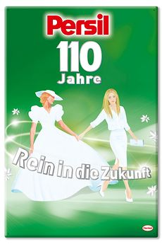 Persil turns 110 years old.