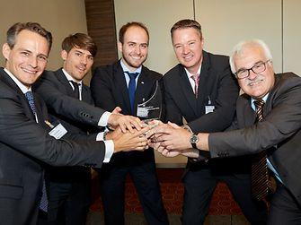 Das Henkel-Team mit dem Rheinischen Innovationspreis