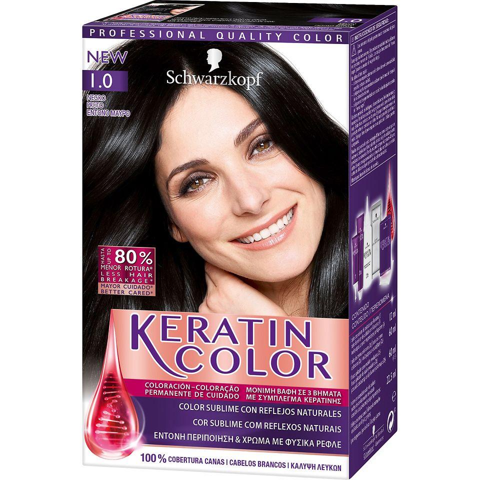Keratin Color 1.0 Preto