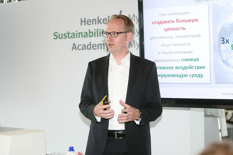 Уве Бергманн, руководитель отдела по управлению устойчивым развитием компании Henkel