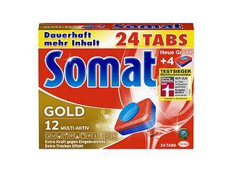 Somat Gold – Testsieger im Maschinengeschirrspülmittel-Test von Stiftung Warentest