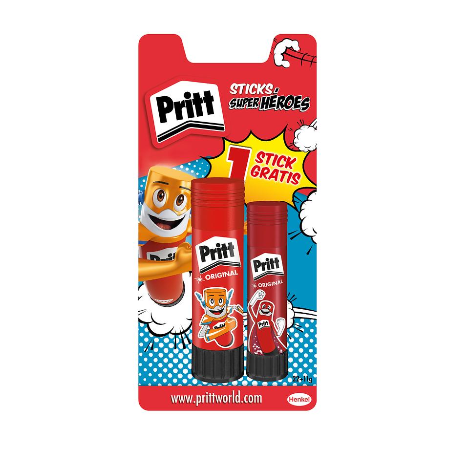 Pritt Stick Cola Heroes Mr.Fast