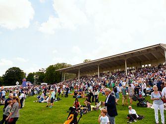 Rund 20.000 Besucher kamen zum 12. Henkel-Renntag auf dem Grafenberg.