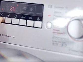 energy efficiency washer digital display