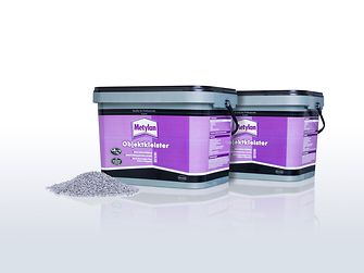 Buckets for Metylan wallpaper paste are made of 50 percent recycled material