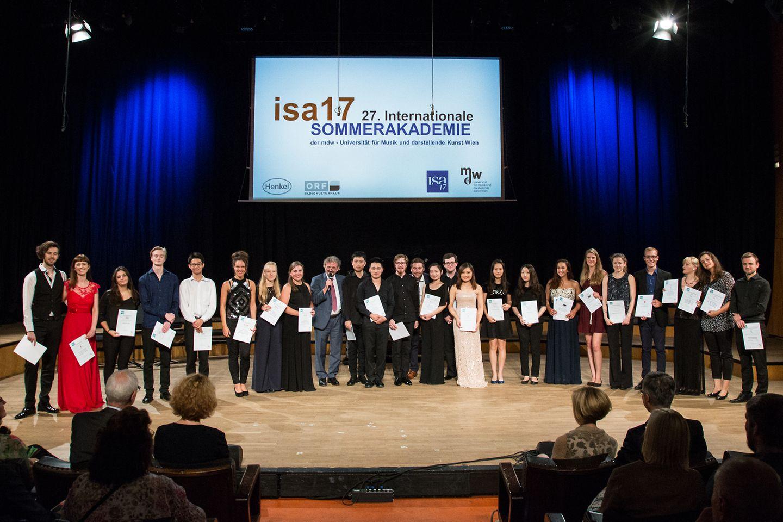 Internationale Sommerakademie (isa) 2017