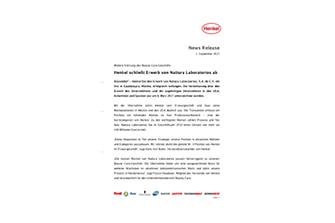 News_Release_Henkel schließt Erwerb von Nattura Laboratorios ab.pdf.pdfPreviewImage (1)