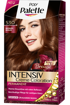 Poly Palette Intensiv Creme Coloration Brouge Bronze-Braun