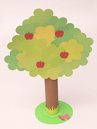 Árvore com papéis