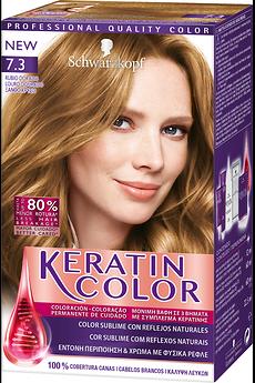 Keratin Color 7.3 Louro Dourado