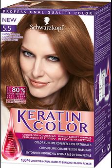 Keratin Color 5.5 Castanho Dourado