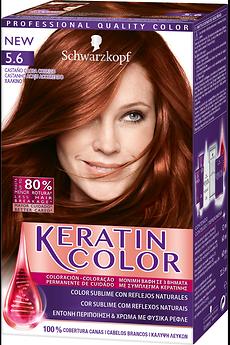 Keratin Color 5.6 Acaju Acobreado