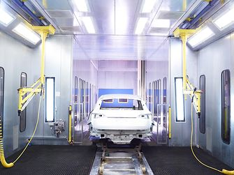 Bonderite two-step process for auto body surface treatment