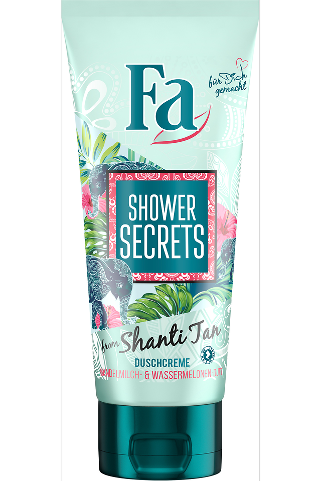 Fa Shower Secrets Duschcreme from Shanti Tan