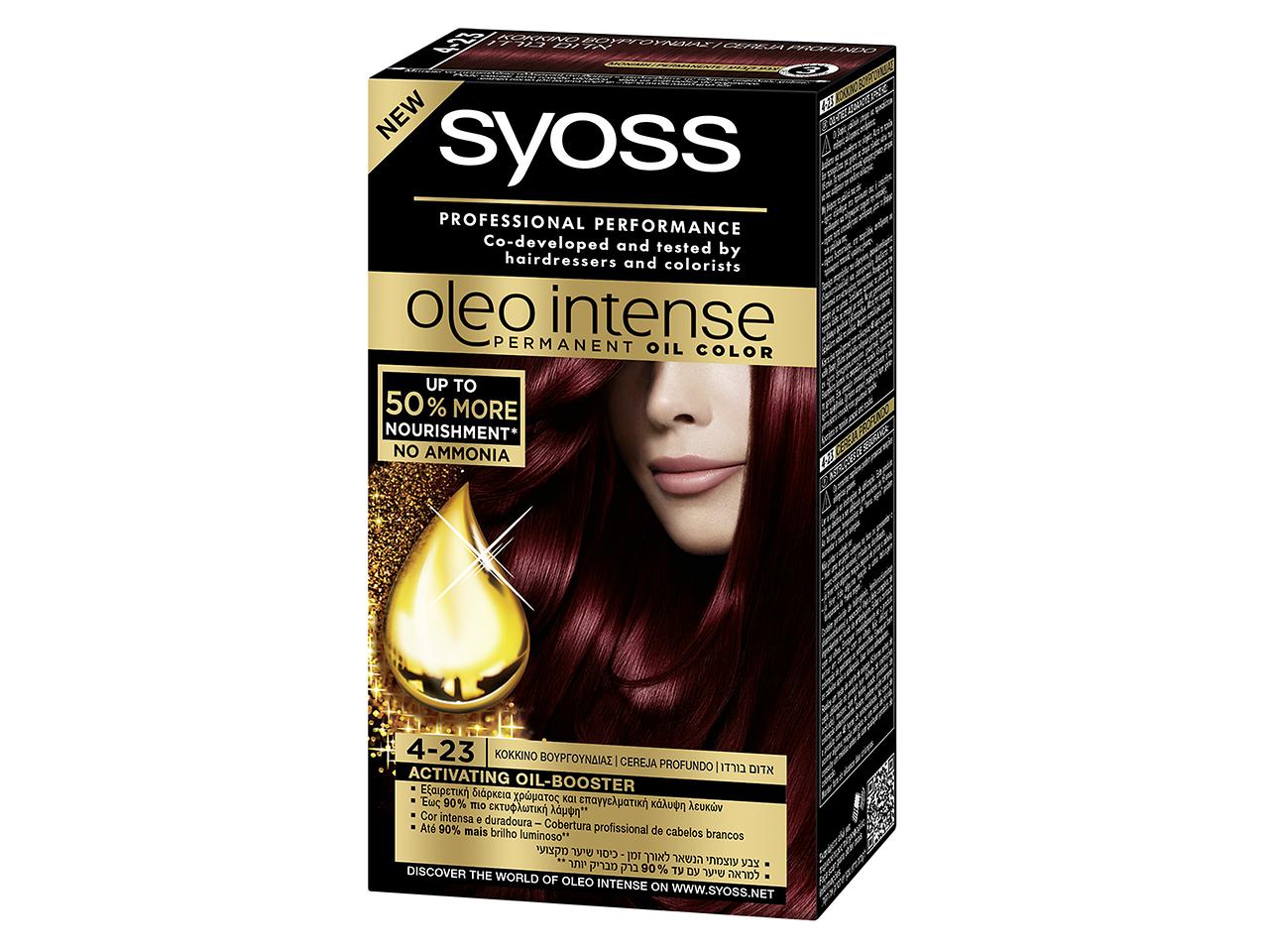 Syoss Oleo Intense 4-23 Cereja profundo