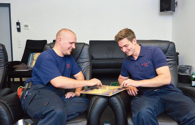 Dominik Urban (links) und Sam Weiler