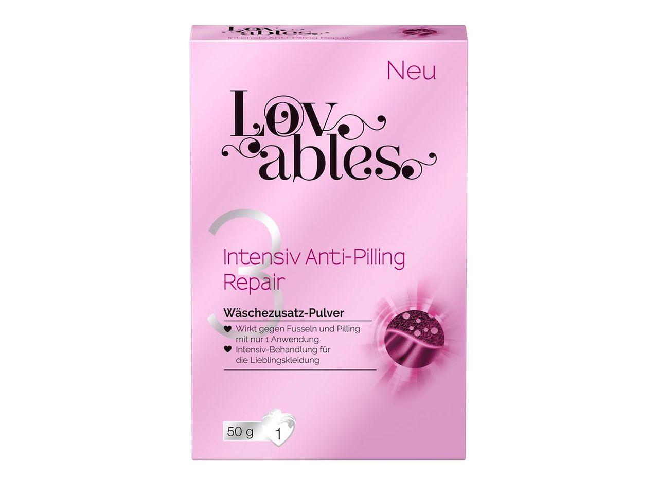 Lovables Anti-Pilling Repair Zusatz-Treatment