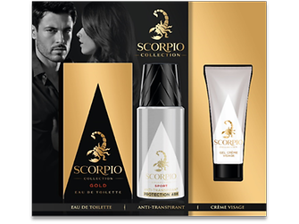 Coffret Scorpio Colection Gold