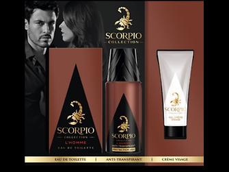 Coffret Scorpio Colection L'Homme