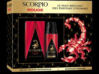 Coffret Scorpio Rouge