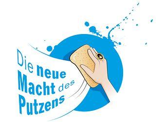 """Logo """"Die neue Macht des Putzens"""""""