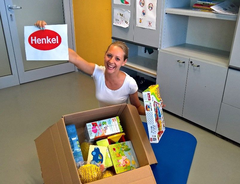 Henkel employee Darja Golnar, Beauty Technology Packaging, with the support from MIT donation has joined hands with the Institute of Autism in Slovenia