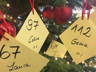 Weihnachtswunschbaumaktion