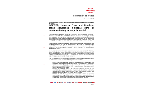 2018-01-10-LOCTITE, Universal Structural Bonders, crean soluciones ilimitadas para el mantenimiento y montaje industrial.pdf.pdfPreviewImage