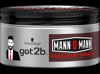 got2b Mann-O-Mann Haar & Bart Pomade