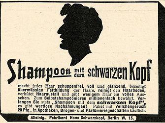 Anzeige Shampoon
