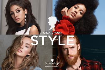 Schwarzkopf is celebrating its 120th anniversary and redefines beauty with the new campaign #createyourstyle.