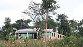 The new building for girls of the Mirembe Cottage of Street Girls