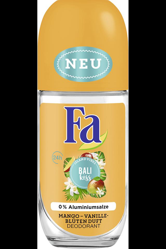 Fa Bali Kiss Roll-On Deodorant