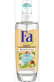 Fa Bali Kiss Zerstäuber Deodorant