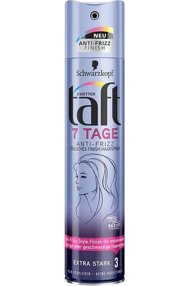 Drei Wetter Taft 7 Tage Anti-Frizz Tägliches Finish Haarspray