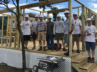 A group of Henkel employees rebuilt a house of a local resident - from the first constructions…