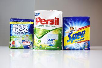 """Henkel verkauft seine Megaperls-Waschmittel in sogenannten """"Quadro Seal Bags"""""""