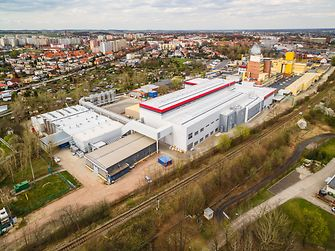 The new production line in Racibórz, Poland will allow the manufacturing of liquid detergent for Persil and other brands