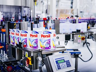 The new production line is an answer to the growing demand for gel detergents