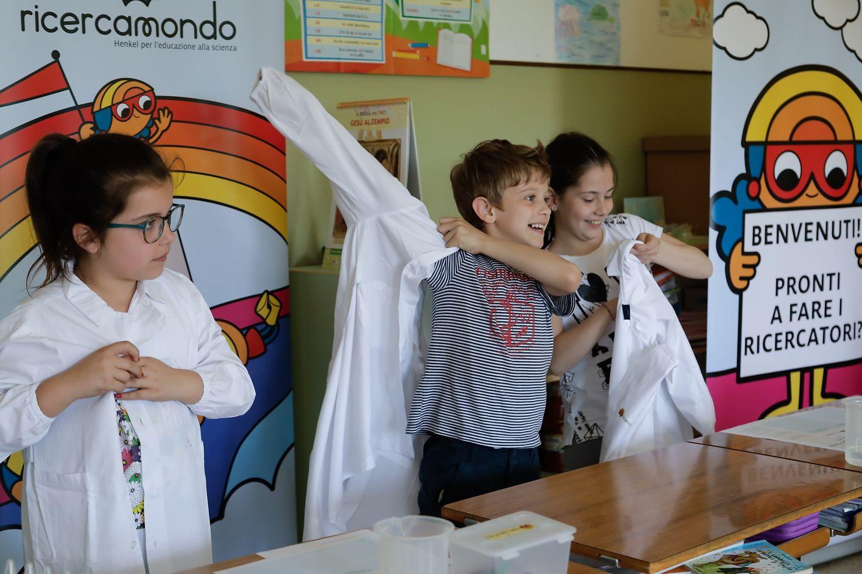 Riparte da Genova l'esperienza di ricercamondo, che ha finora coinvolto più di 3.200 bambini in tutta Italia