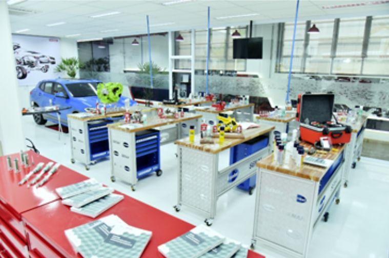 Imagem interna do novo Centro de Treinamento.