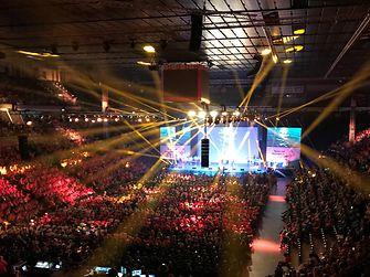 Offizielle Eröffnungsfeier der Special Olympics