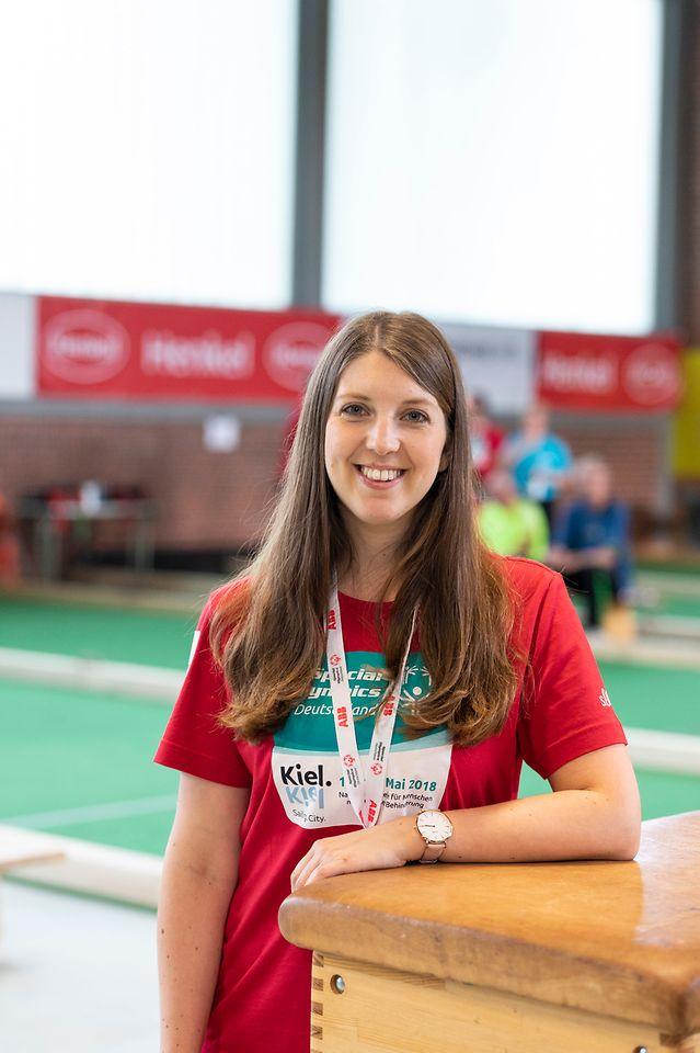 Yvonne Gottschlich, Henkel-Mitarbeiterin