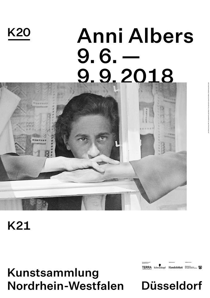 Ausstellungsplakat Anni Albers
