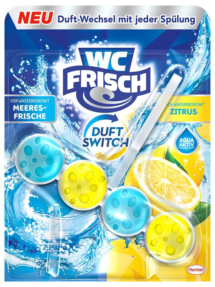 WC Frisch Duft Switch-Meeresfrische und Zitrus