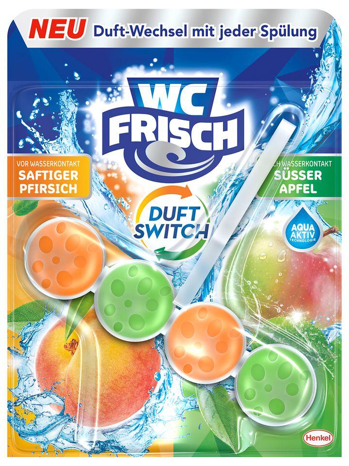 WC Frisch Duft Switch Saftiger Pfirsich und Süsser Apfel