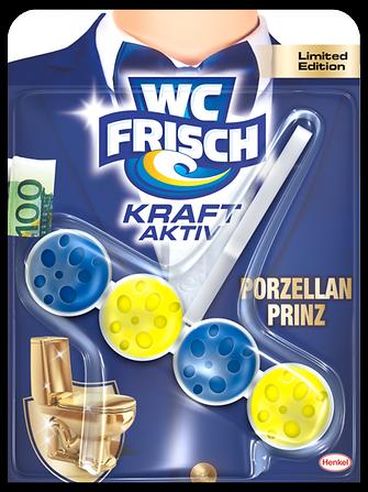 Die WC Frisch WC-Klischee-Variante Porzellan Prinz