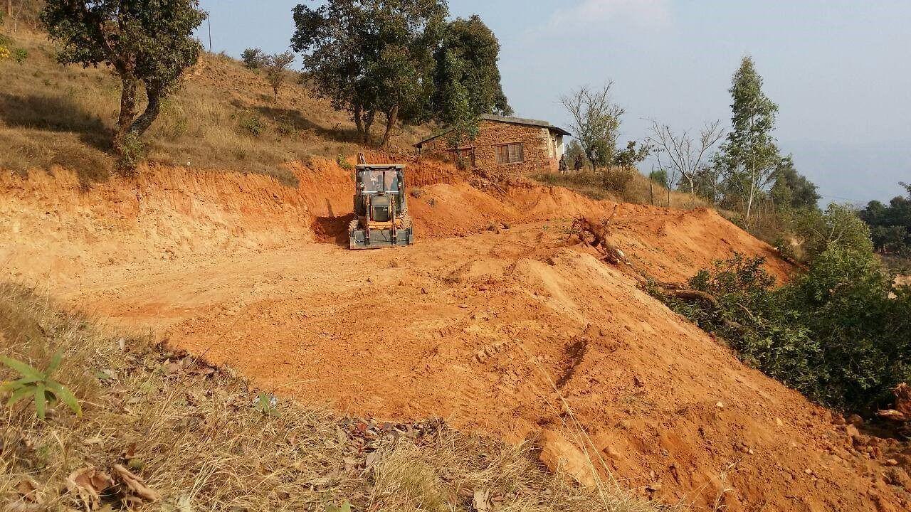 Im nepalesischen Dorf Namjung entsteht das neue Mutter-Kind-Zentrum.