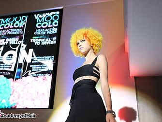 #AcademyofHair shows what its made of at opening event