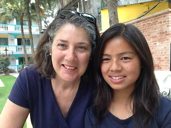 Susanne Volkmann and Avina Tamang